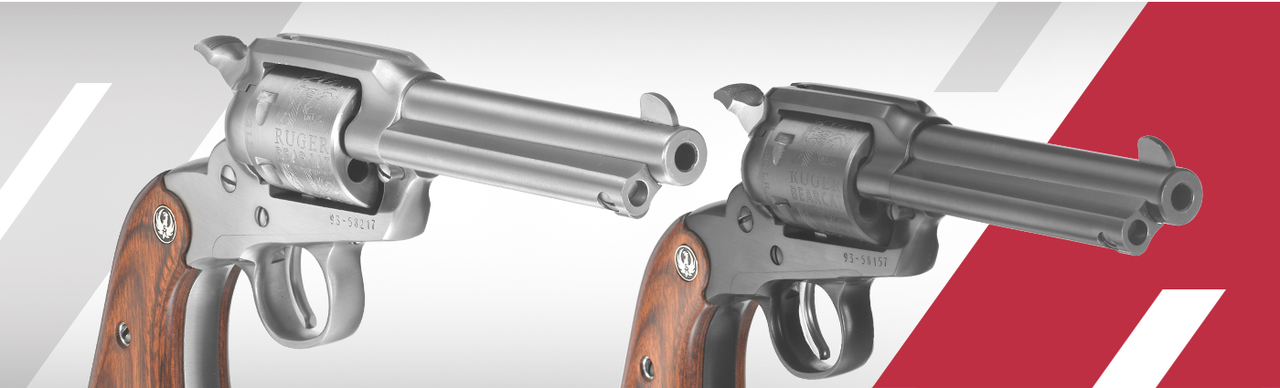 Ruger® New Bearcat® * Single-Action Revolver Models