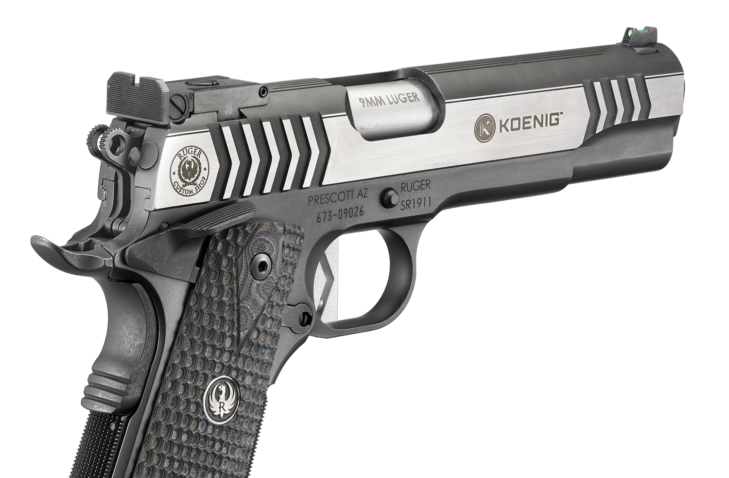 Ruger® Custom Shop SR1911® Competition Pistol