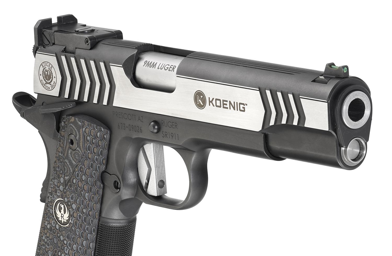 Ruger® Custom Shop SR1911® Competition Pistol