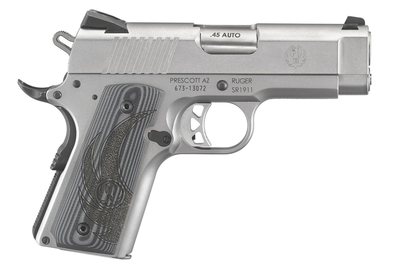 Ruger® SR1911® Officer-Style Centerfire Pistol Model 6762