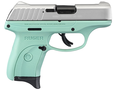 Ruger® EC9s® * Centerfire Pistol Models on