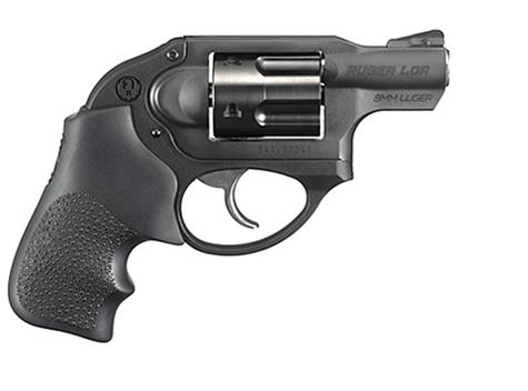 Ruger 9mm LCR revolver