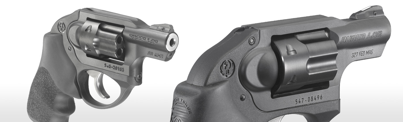 Ruger® LCR® * Double-Action Revolver Models