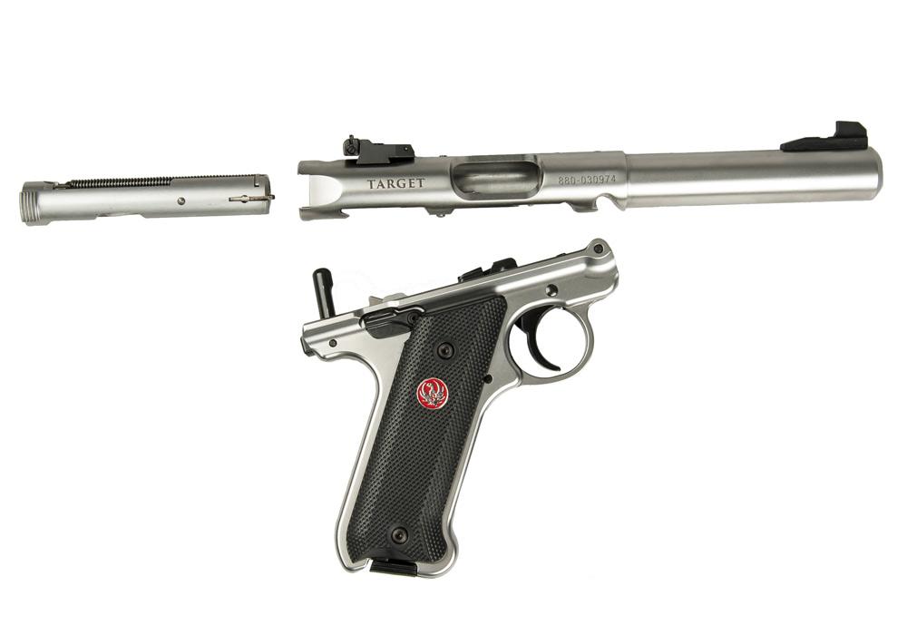 Ruger® Mark IV™ 22/45™ Lite Rimfire Pistol Models