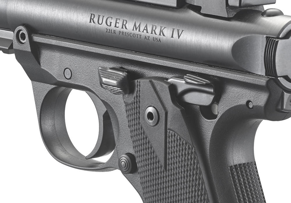 Ruger® Mark IV™ 22/45™ Tactical Rimfire Pistol Models