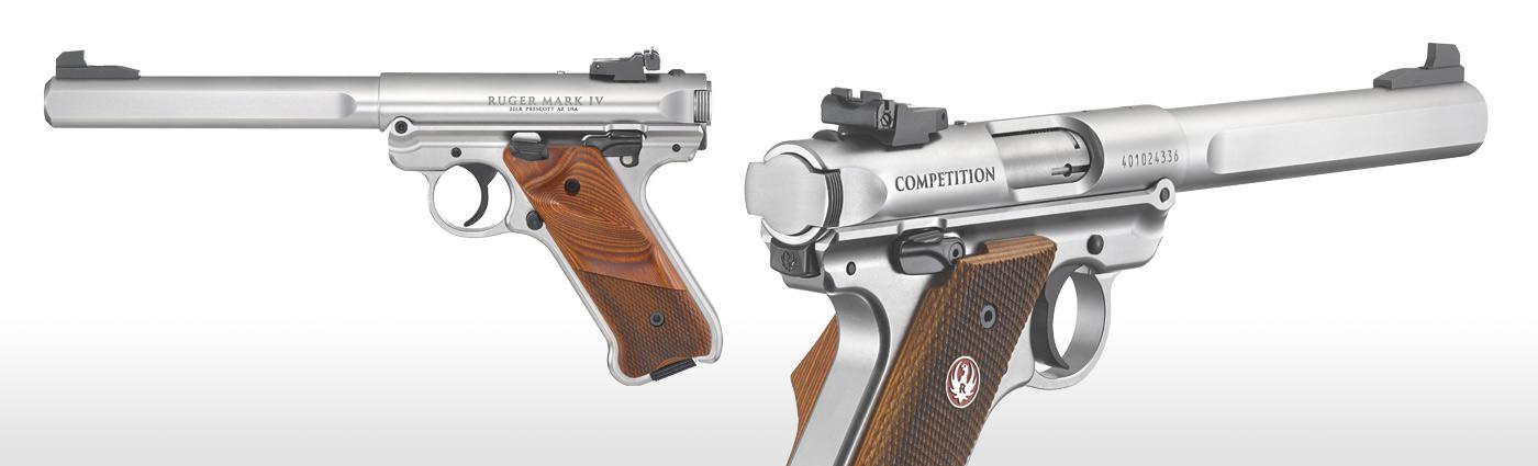 Ruger® Mark IV™ Competition Rimfire Pistol Models
