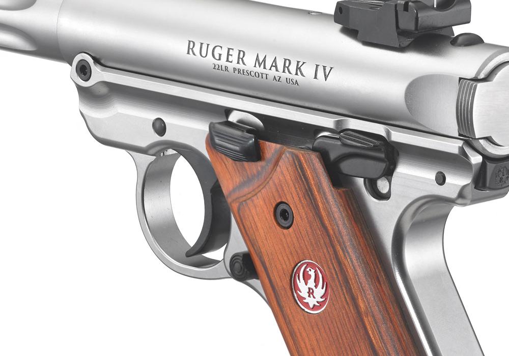 ruger® mark iv™ hunter rimfire pistol models