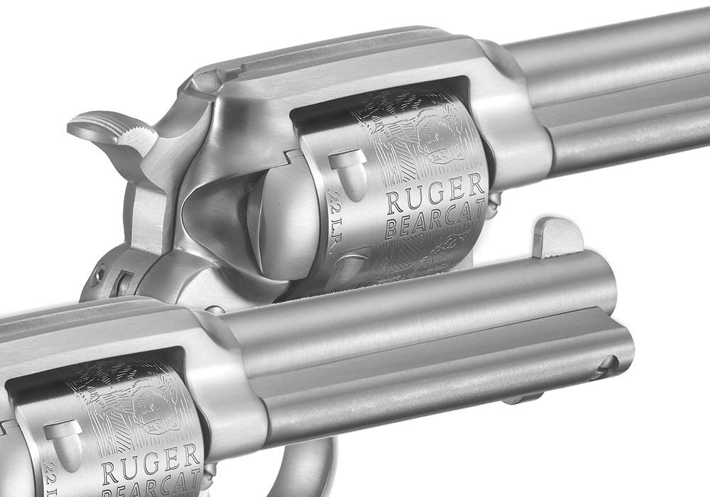 Ruger® New Bearcat® * Single-Action Revolver Models