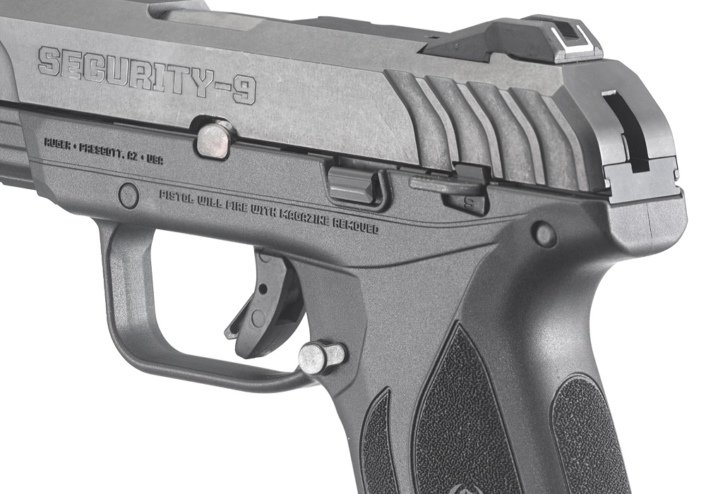 Ruger® Security-9® * Centerfire Pistol Models